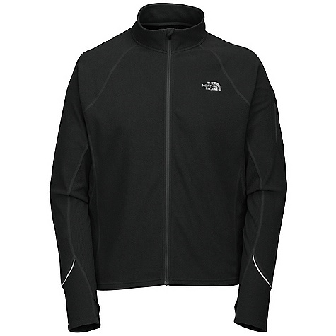 Free Shipping. The North Face Men's TKA 80 Full Zip Jacket DECENT FEATURES of The North Face Men's TKA 80 Full Zip Jacket Layered ventilation system Lightweight micro-fleece Thumb loops Secure Zip pocket with reflective piping and logo Embroidered TNF logo Imported The SPECS Average Weight: 8.8 oz Center Back Length: 27in. Body: 150 g/m2 (4.4 oz/yd2) 100% polyester micro-fleece Panels: 160 g/m2 (4.7 oz/yd2) 100% polyester oval double-knit This product can only be shipped within the United States. Please don't hate us. - $69.95