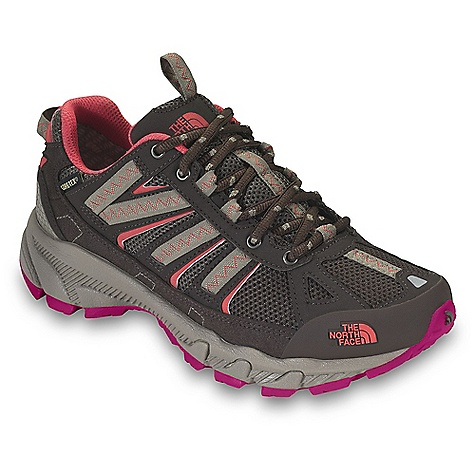 Free Shipping. The North Face Women's Ultra 50 GTX XCR DECENT FEATURES of The North Face Women's Ultra 50 GTX XCR Upper: Gore-Tex Extended Comfort Range waterproof, breathable membrane Breathable mesh Synthetic and webbing upper Protective TPU toe cap Compression-molded EVA midsole ESS midfoot shank UltrATAC rubber outsole The SPECS Approx Weight: 1/2 pair: 10.8 oz / 307 g, pair: 1 lb 6 oz / 614 g This product can only be shipped within the United States. Please don't hate us. - $109.95