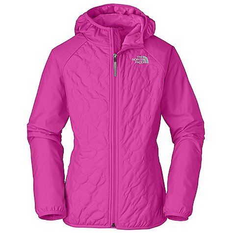 Free Shipping. The North Face Girls' Lil' Breeze Wind Jacket DECENT FEATURES of The North Face Girls' Lil' Breeze Wind Jacket Fixed hood Fully fleece lined Quilting at body Zippered hand pockets Elastic binding at hood, cuffs and hem ID label Embroidered logo at left chest Imported The SPECS Average Weight: 12.21 oz / 346 g Center Back Length: 21.5in. Body: 50D 76 g/m2 100% recycled polyester taffeta with DWR Lining: 230 g/m2 100% polyester high-pile Silken fleece This product can only be shipped within the United States. Please don't hate us. - $84.95