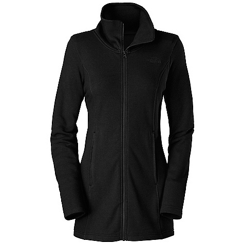 Free Shipping. The North Face Women's Lunelly Jacket DECENT FEATURES of The North Face Women's Lunelly Jacket High collar On-seam zip hand pockets Elastic shaping at back Embroidered logo at left chest SPECS Average Weight: 16 oz / 450 g Center Back Length: 30.5in. 75D 230 g/m2 69% cotton, 31% polyester fleece This product can only be shipped within the United States. Please don't hate us. - $79.95
