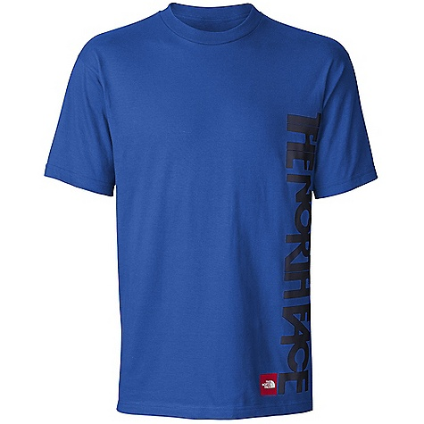 The North Face Men's S-S Oseela Tee DECENT FEATURES of The North Face Men's Short Sleeve Oseela Tee Comfortable, lightweight, easy-care fabric Screen-printed graphic at left side 1x1 rib at collar The SPECS Average Weight: 7.2 oz / 204 g Center Back Length: 28.5in. 180 g/m2 94% cotton, 6% organic cotton jersey This product can only be shipped within the United States. Please don't hate us. - $25.00
