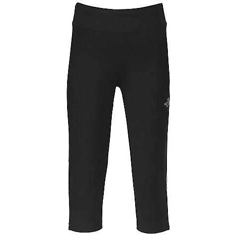 Fitness The North Face Girls' 3-4 Running Tight DECENT FEATURES of The North Face Girls' 3/4 Running Tight Set-in covered elastic waistband Mesh insets and reflective piping at side seams Reflective logo at left leg hem Imported The SPECS Average Weight: 9 oz / 250 g Inseam: 13.5in. Body: 40D 300 g/m2 93% cotton, 7% elastane jersey Insets: 150D x 40D 141 g/m2 100% polyester mesh This product can only be shipped within the United States. Please don't hate us. - $31.95