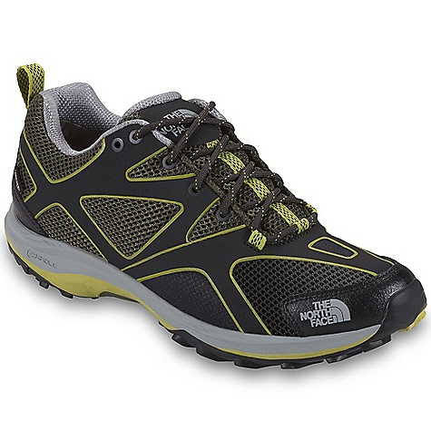 Camp and Hike Free Shipping. The North Face Men's Hedgehog Guide GTX Shoe DECENT FEATURES of The North Face Men's Hedgehog Guide GTX Shoe Upper: PU-coated leather toe cap for durability Welded, synthetic-leather forefoot Welded, synthetic, overlay-reinforced midfoot Abrasion-resistant, breathable mesh Gusseted tongue Gore-Tex Extended Comfort Range waterproof, breathable membrane Northotic Pro 2.0 footbed Bottom: Dual-density, molded, EVA Cradle Guide midsole platform TPU shank for lightweight support TPU Snake Plate forefoot protection Exclusive lightweight Vibram rubber outsole The SPECS Last: TNF-001 Approx Weight: 1/2 pair: 13.5 oz / 384 g, pair: 1 lb 11 oz / 768 g This product can only be shipped within the United States. Please don't hate us. - $129.95