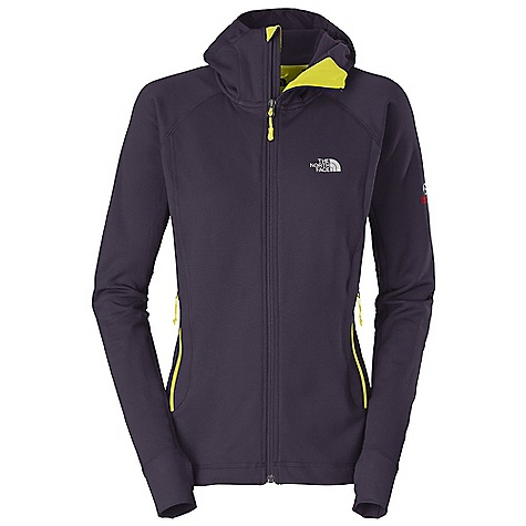 Ski On Sale. Free Shipping. The North Face Women's Defroster Hoodie DECENT FEATURES of The North Face Women's Defroster Hoodie Alpine climbing FlashDry panels extend comfort range and vastly improve dry time Pontetorto hardface fleece has a wide comfort range, packs small and resists abrasion Sleek in.scubain. hood fits close to the head and under a helmet Harness-and pack-friendly handwarmer pockets The SPECS Average Weight: 14.2 oz / 400 g Fit: Active 241 g/m2 (7.11 oz/yd2) 92% polyester 8% elastane Pontetorto jersey knit 215 g/m2 59% nylon 25% polyester 16% elastane double knit with FlashDry This product can only be shipped within the United States. Please don't hate us. - $151.96