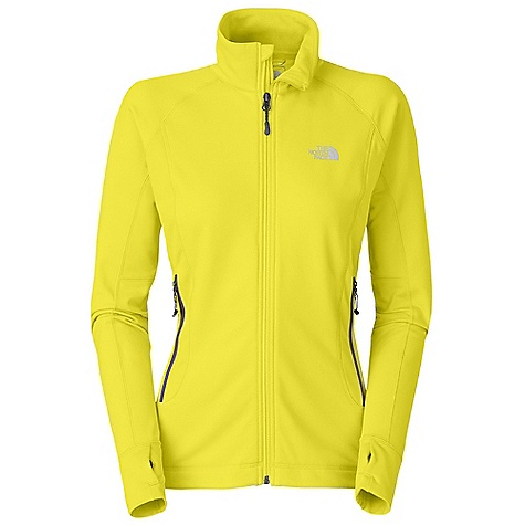 Free Shipping. The North Face Women's Defroster Jacket DECENT FEATURES of The North Face Women's Defroster Jacket Pontetorto hard-faced fleece has a wide comfort range, packs small and resists abrasion Flash-Dry panels extend comfort range and vastly improve dry time Harness-and pack-friendly alpine hand warmer pockets No-rise hem is slightly longer in the back Summit Series collection is harness and pack-compatible Imported The SPECS Average Weight: 12.8 oz / 365 g Center Back Length: 25in. 241 g/m2 92% polyester, 8% elastane Pontetorto jersey knit, 215 g/m2 59% nylon, 25% polyester, 16% elastane double knit with FlashDry This product can only be shipped within the United States. Please don't hate us. - $169.95