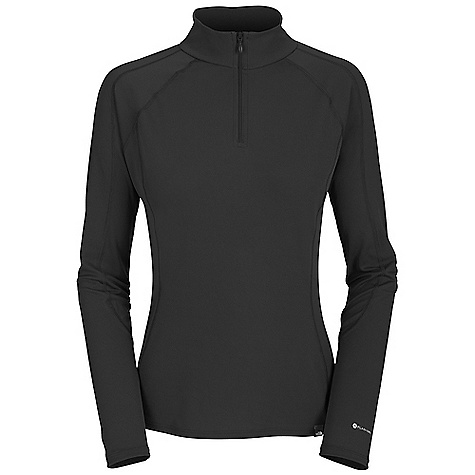 Free Shipping. The North Face Women's Light L-S Zip Neck DECENT FEATURES of The North Face Women's Light Long Sleeve Zip Neck Mock neck Half-zip front Flat-locked seams Logo tag Imported The SPECS Average Weight: 3.7 oz / 105 g Center Back Length: 25.5in. 115 g/m2 89% polyester 11% polyolefin Hi-mechanical stretch double knit with Flash Dry fiber This product can only be shipped within the United States. Please don't hate us. - $49.95