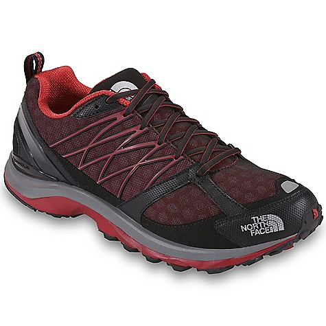 Free Shipping. The North Face Men's Double-Track Guide Shoe DECENT FEATURES of The North Face Men's Double-Track Guide Shoe Upper: Abrasion-resistant, tight-weave mesh Welded TPU overlays for midfoot support C-Delta metatarsal fit system Perforated EVA Northotic footbed TPU heel and dual-injection-molded Eva Cradle Guide midsole platform 20 mm/12 mm heel/forefoot heights TPU Snake Plate forefoot protection Tenacious Grip sticky rubber outsole The SPECS Approx Weight: 1/2 pair: 11.4 oz / 325 g, pair: 1 lb 7 oz / 650 g This product can only be shipped within the United States. Please don't hate us. - $129.95