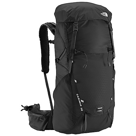 Free Shipping. The North Face Casimir 36 Pack DECENT FEATURES of The North Face Casimir 36 Pack Proprietary Optifit-F technology provides an unparalleled fit Sizeadjustable, gender-specific hipbelt and harness Ultralight nylon pack body Multiple external pockets for easy gear organization Extra-large hipbelt pockets Relective hits The SPECS Volume: 2197 cubic inches / 36 liter Suspension: Optifit-F Frame Sheet: Yes, Perforated Access: Top H20 Compatible: Yes 70D geo ripstop PU nylon The SPECS for Small / Medium Weight: 2 lbs 3 oz / 992 g Dimension: 22.4 x 13.2 x 6.3in. / 57 x 33.5 x 16 cm The SPECS for Medium / Large Weight: 2 lbs 4 oz / 1021 g Dimension: 23.8 x 13.2 x 6.3in. / 60.5 x 33.5 x 16 cm This product can only be shipped within the United States. Please don't hate us. - $168.95