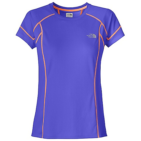 The North Face Women's GTD S-S Top DECENT FEATURES of The North Face Women's GTD Short Sleeve Top Body-mapped ventilation Pieced collar Reflective logos Imported The SPECS Average Weight: 2.85 oz Center Back Length: 23.25in. Body: 105 g/m2 100% polyester double knit with FlashDry Panel: 141 g/m2 100% polyester tricot This product can only be shipped within the United States. Please don't hate us. - $39.95