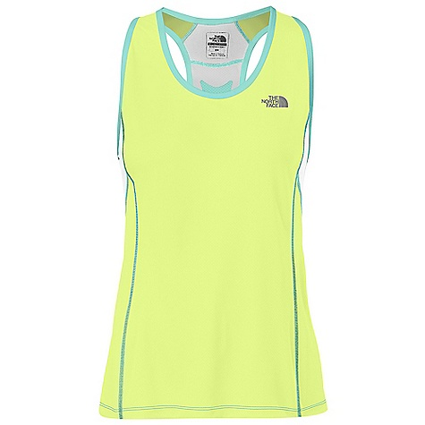 Fitness The North Face Women's Better Than Naked Singlet Top DECENT FEATURES of The North Face Women's Better Than Naked Singlet Top Fully breathable wicking fabric with engineered physiologic ventilation Flight Series running collection is athlete tested, competition proven Two-color burn-out Reflective logo Imported The SPECS Average Weight: 2.82 oz Center Back Length: 23.5in. Body: 90 g/m2 100% polyester with FlashDry Panel: 110 g/m2 95% polyester, 5% elastane mesh, 140 g/m2 83% polyester, 17% viscose This product can only be shipped within the United States. Please don't hate us. - $44.95