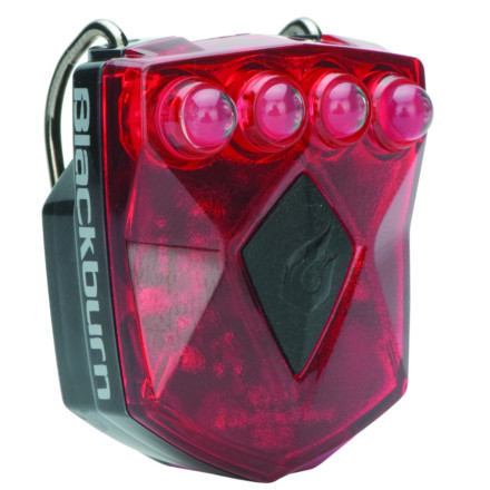 Fitness Attach the Blackburn Flea Rear Flasher Light and be seen by even the blindest most mole-eyed drivers on the road. Four super-bright red LEDs keep you visible whether in steady, flash, or chase mode. Blackburn's innovative charging system uses any standard 1.5V battery to charge the Flea Rear Flasher Light for up to twelve hours of operation (flash mode; steady mode equals six hours), making it easy to charge up at the office or at home. The convenient hook-and-loop strap attaches easily to a seatpost or your helmet, or any part of the body you want to show off, and removes easily for stashing in a pocket or messenger bag.Compatible with Solar and 1.5V chargers (available separately) - $9.95