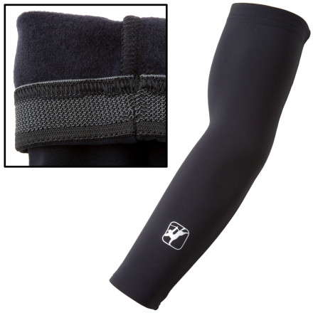 Fitness Giordana makes their arm warmers from Super Roubaix fabric for loads of warmth. Use these in conjunction with a vest and a baselayer and you can ride in your favorite short sleeve jersey nearly year-round. Great from mid 40's to around 60 degrees. These arm warmers are built to last several seasons, and despite their reasonably low price, their quality and beauty are second to none. It's signature Giordana -- you'll look pro, you'll feel pro, but you won't spend Assos dollars. - $29.95