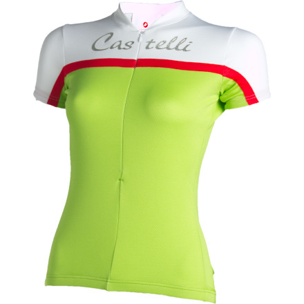 Fitness Guys are good at a lot of things, like peeing while standing and thinking of excuses for completely forgetting your anniversary, but for some things, you really want a woman's touch. The Castelli Women's Promessa Short-Sleeve Jersey was designed for women by women. The look is all about feminine athleticism, while the materials are all about high-tech performance. - $39.98