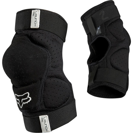 MTB From dicey descents to a day at the jump park, the Fox Launch Pro Elbow Guard lets you explore the limits of your riding without giving up tissue.Perforated neoprene offers breathability for comfort Pre-curved, anatomically-shaped fit ensures a bunch-free ride - $39.95