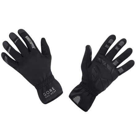 Fitness The Mistral is a strong, cold, dry, northerly wind of Southern France. Strong, northerly, dry, and cold come to mind with the Gore Bike Wear Mistral glove. You use it in the cool or cold weather, like that of the north. The glove is durable and at its best in dry conditions.We see this as a spring/fall glove, though it could work great in cold conditions if you're racing or climbing. The reason we see the glove this way is that the glove is made from Windstopper Soft Shell, which means windproof, highly water-resistant, breathable, and with a little loft for insulation. The glove is thin -- thin enough that it could be used as a liner at times, though the foam padding on the palms, present, but not huge, might get in the way on some gloves. And the silicone lines on the fingers grip fine, but might also slow down inserting the glove into a larger glove.The glove is long in the cuff. Nice for when you want to tuck your sleeves under the glove to keep the wind from getting under your jersey or jacket sleeves. The Gore Bike Wear Mistral gloves are black, and available in Small, Medium and Large sizes. - $39.96