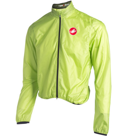 Fitness A lightweight wind jacket is a lot like a truing stand. In the course of a season, you may or may not have too many occasions to use it, but when you do need it, nothing else will suffice. When done well, they're incredibly versatile garments. Done poorly, they can wind up in a trashcan mid-ride.The Castelli Leggero Jacket begins with the Italian maker's stellar form-following fit. This is one jacket that won't flap in the wind. Naturally, it's windproof, but it is also water-resistant while maintaining reasonable breathability, in part thanks to the expansion vent in the back. A double-pull zipper will help you further dial in ventilation.Perhaps the jacket's best feature is the fact that the Forcefield fabric from which the jacket is cut weighs just 35 grams per square meter, making it one of the lightest jackets on the market. So lightweight is the jacket that it comes with its own stuff sack, so it's as easy to take with you as an energy bar. The mesh-lined collar won't chafe your neck when the jacket is zipped all the way up, and reflective tabs on the back keep you visible on early morning or late evening rides.The Castelli Leggero Jacket comes in Black, White, and Florescent Yellow and is available in six sizes from Small through XXX-Large. - $59.96