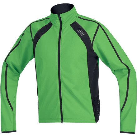 Fitness The lame thing about some windproof, water-resistant jackets is that they feel cardboardy, they dont breathe much, and they dont fit in your one-small-pocket hydration-pack. The GORE Bike Wear Oxygen Jacket is different. - $100.00