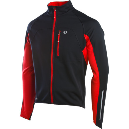 Fitness Pearl Izumi introduced the Elite Softshell Jacket to tame the most chilling training rides. The Elite is lined with Thermal Fleece panels for optimal warmth and moisture transfer, while the outer shell blocks the wind and wet. The Elite Softshell also features contoured shaped sleeves that are plenty long so your buddy wont tease you about wearing a jacket two sizes too small. - $79.98