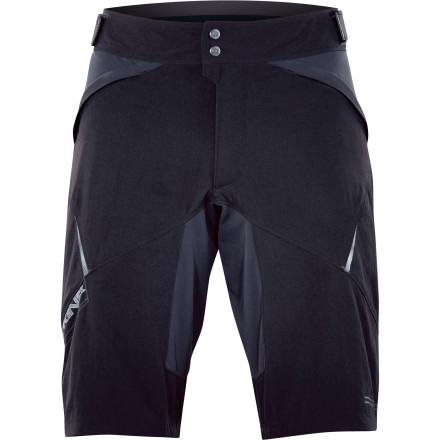MTB The DAKINE Boundary Short comes with good looks and a removable liner with chamois to make it the most versatile mountain bike short in your closet.Removable Dolomiti liner with chamois for added padding and moisture management Gusseted crotch panel adds durability Zippered front pockets for security Side waist tab adjustments for custom fit 13 inch inseam is long enough to be stylish but won't interfere with your knees - $62.48