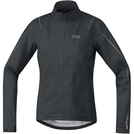Fitness No sense in compromising if the difference between an enjoyable ride and coming home a soggy mess is the Gore Bike Wear Countdown GT Jacket. You get it all with the Countdown, which is constructed of Gore's guaranteed waterproof Gore-Tex Performance Shell, ensuring you'll not only stay completely dry on the outside, but on the inside toothanks to the Performance Shell's exceptional breathability. Gore didn't skimp on the Countdown's slightly relaxed fit either, leaving you room to layer and breathe freely, while still offering superb in-saddle ergonomics in the elongated back, extended collar, and fully adjustable hem.360-degrees of reflectivity ensure you remain visible at all times Single rear stash pocket protects a media player or phone from the elements - $99.98