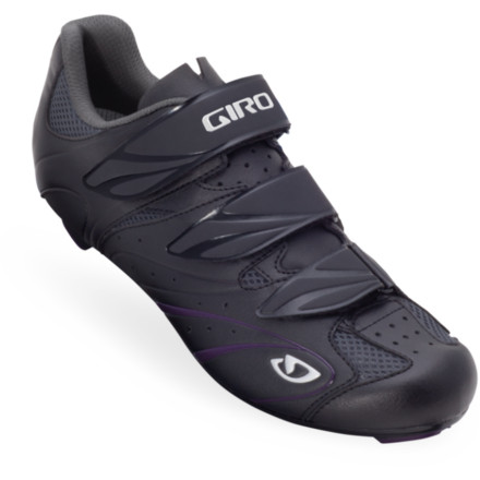 Fitness Cycling isn't about being faster than the rider next to you, it's about enjoying the ride at your own maximum potential. So whether that enjoyment is through a fun ride with ladies from your shop, a challenging gran fondo with your significant other, or a century for a good cause, the Giro Women's Sante Shoes will get you there in simplicity, style, and comfort. - $79.96