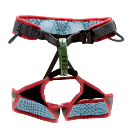Climbing Petzl designed the Women's Selena Harness with a combination of perforated closed-cell foam and mesh material to provide excellent ventilation and help you stay cool on hot days. This well-ventilated design also offers excellent padding to make your hanging belay a bit more comfortable. Petzl gave the Selena Harness pre-formed gear loops to keep your rack organized and a rear sling to haul your tag line on multi-pitch climbs. Of course, this women's harness also has Petzl's sought-after, pre-threaded DoubleBack buckle to allow quick entry and easy adjustments on the go. - $52.46
