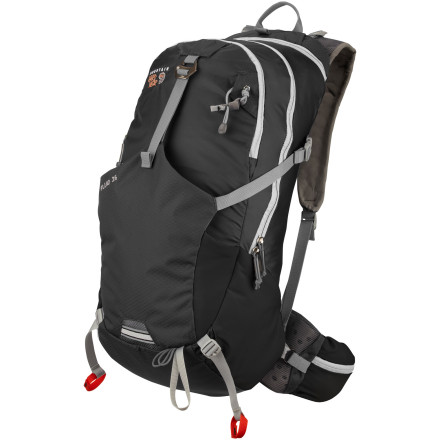 Climbing When you're moving quickly, you can't afford to have your pack bouncing around on your back. It's annoying at best; dangerous at worst. The Mountain Hardwear Fluid 26 Backpack features a unique on-the-fly compression system that allows you to secure your load without removing the pack for a perfect fit. - $119.95