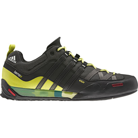 Climbing Alexander and Thomas Huber climbed the nose of El Capitan in two hours and 45 minutesthese guys are all about speed. Adidas teamed up with these climbing legends and designed the Terrex Solo Approach Shoes to get you from the trailhead to the rock quickly and safely. - $107.96