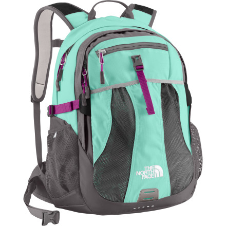 Camp and Hike Carry everything you need comfortably for a day hike or full block of classes with The North Face Women's Recon Backpack. Ergonomically-designed, women-specific shoulder straps and hipbelt help to comfortably distribute the weight so you feel a little less like a pack mule carrying a loaded Recon around campus or on the trail. - $98.95