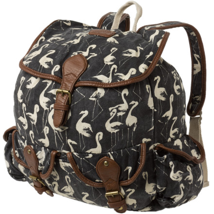 Camp and Hike Keep the Billabong Women's Drift Away Bag securely slung over your shoulders because you never know who or what (howler monkeys) you'll encounter while you roam the friendly streets of Costa Rica. - $53.51