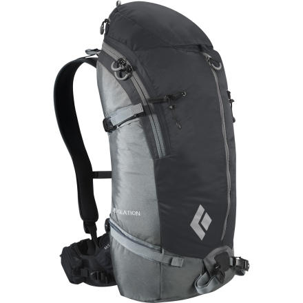 Ski A true and just manifestation of a backcountry ski pack is exemplified in the Black Diamond Revelation Winter Pack. This top-loading ski satchel is loaded with winter-specific features and holds the ideal amount of gear for long day tours, ski mountaineering, or light overnights. - $79.98