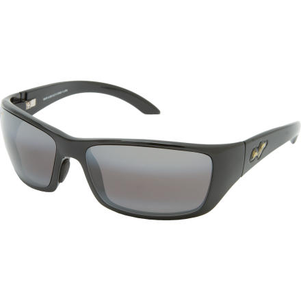 Entertainment Youre a heavy hitter, so you need sunglasses that exude authority and style. Maui Jim Canoes Polarized Sunglasses knock 'em over the head with it. - $219.00