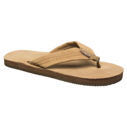 Entertainment Seashells to find, rocks to look under, and pranks to pull'your kid's schedule is pretty full, and the Rainbow Kids' Premier Leather Wide Strap Sandal keep those busy feet feeling awesome all day long. - $27.95