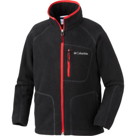 Camp and Hike If you need the means to fast-track your way to warmth, then zip into the Columbia Boys' Fast Trek Full-Zip Fleece Jacket before you head out for a hike on a cool fall day or pull a shell over it for total warmth during a wicked winter storm. - $20.97