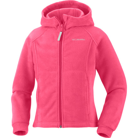 Columbia Benton Fleece Hooded Jacket - Girls' - $19.56