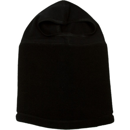 Send your kid out with the Seirus Kid's Thick N Thin Headliner when old man winter comes to visit. This balaclava features a thick fleece neck gaiter and thin head sock, so it fits comfortably under a helmet or hat. - $15.26