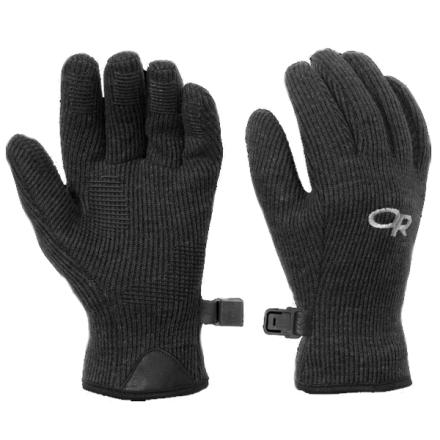 Bulky insulated gloves can drive kids crazy sometimesso for those times when youre not worried about hands getting sopped with snow, send them out into the cold in the Outdoor Research Flurry Glove for Kids. Your little ones will appreciate the stretchy Alpin-wool shell and the smooth, wicking polyester interior. Thanks to the gloves low bulk, MotionWrap construction that minimizes seams, and silicone grip pads on the fingers and palms, kids will enjoy tactile mobility that they cant get from the mattresses they usually have wrapped around their hands. - $22.95