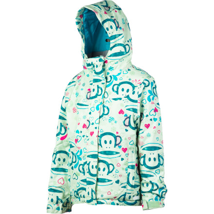 Snowboard With warmth and waterproofing for most of winter's weather, the Paul Frank Girls' Julius Sketch Insulated Jacket keeps young riders covered with comfort and adorable fashion only Paul Frank could provide. - $77.97