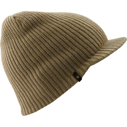 Entertainment Don the Burton Ledge Beanie in the ever-present search for vertical nirvana. If you whip tricks hard enough to centrifugally detach the Ledge from your head, youre there. - $14.97