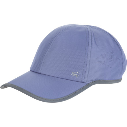Sports After you shank a drive into the rough, you don't throw your club. You readjust your sun-blocking Sunday Afternoons Women's Pursuit Baseball Hat and enjoy the extra time outdoors. Since the UPF 50 fabric prevents sunburn on your scalp, you don't mind searching through the tall, sweet-smelling grass for your ball. - $23.95