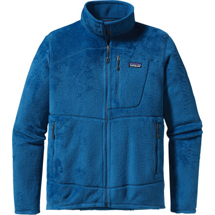 Ski For superior insulation under your shell, turn to the Patagonia Men's R2 Fleece Jacket. The R2's Polartec Thermal Pro polyester fabric breathes well and keeps you warm and comfortable on cold winter days. Patagonia added warm stretch panels down the outer forearms and along the sides in high-wear areas to increase the R2's durability and lifespan. When the R2 has seen better days, recycle it through the Patagonia Common Threads Recycling Program. - $159.00