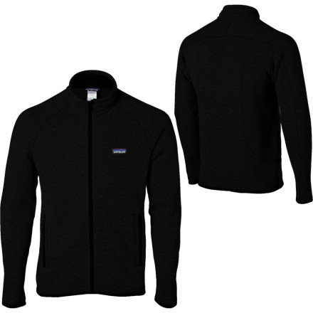 Patagonia couldnt have picked a better name for the Mens Better Sweater Fleece Jacket. After one day in the Better, youll probably throw out your cotton sweatshirt. After all, why would you wear fleece every day in the mountains and then go back to cotton in town' Despite the casual cut and style, this soft Patagonia fleece easily makes the cut for technical wear. Midweight fleece makes this piece ideal as both a mid-layer and a casual around-town top. - $139.00