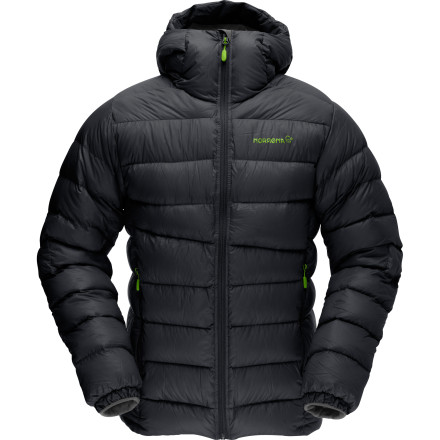 Since it's light and compressible, you can take the Norrna Lyngen Lightweight Down Jacket for comfy warmth anywhere anytime. On the hill, on the wall, on the trailheck, it's so cozy and packable, you'll never go without it. - $263.12