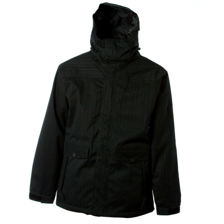 Snowboard How cool is a technical jacket if it looks like sin' Not very. The 686 Mandate Jacket meets your snowboarding demands, shielding you from the elements. Looks' The Mandate administers style in force in the form of clean lines and a unique nylon oxford material. - $125.98