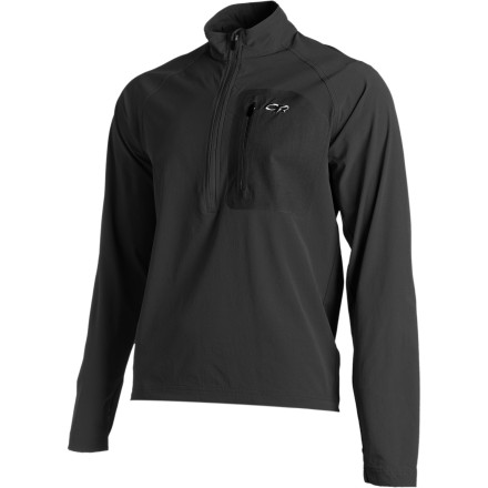 Climbing Built for alpine climbing and trekking above treeline, the Outdoor Research Ferrosi Windshirt blocks swirling winds and and breathes well to help keep you comfortable while exerting yourself. - $84.95