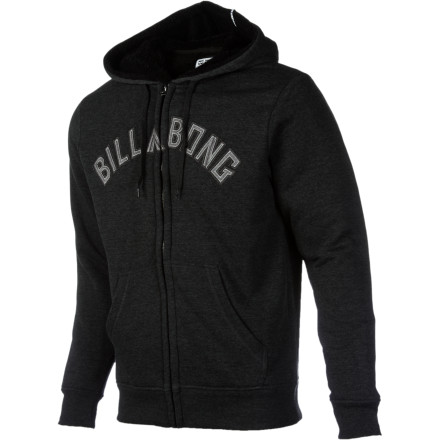 Surf Are you a glass-is-half-empty kind of person' Well, stop it! Nobody likes that type. Cheer up and grab a billabong Fill It Up Full-Zip Hoodie. you'll love the hoodie, and maybe you'll even make a couple friends. - $48.97