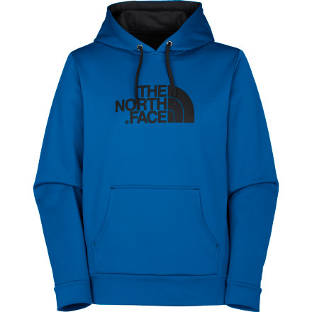 The North Face Surgent Hooded Sweatshirt not only keeps you warm during those chilly summer and fall nights but also features a hidden stash pocket to stow your music player. A Sanitized Silver antimicrobial treatment helps keep your threads smelling fresh for the rare times that a girl worth talking to actually sits next to you on the bus. - $43.96