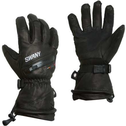 Ski When you want a leather glove with insulation that won't impede your finger dexterity, pull on the Swany X-Plode Ski Glove. - $143.95