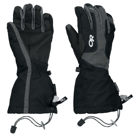 Ski Boasting a waterproof breathable Gore-Tex membrane and a removable 100-weight fleece liner, the Outdoor Research Women's Arete Gloves are ideal for skiing, snowboarding, winter travel, and backcountry adventures. - $53.37