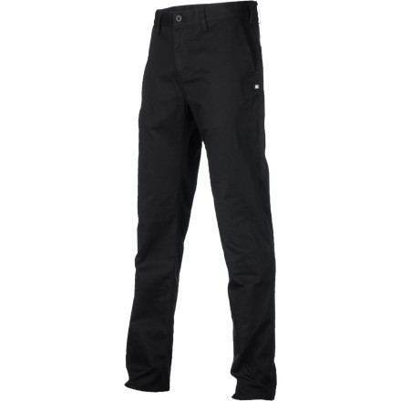 Skateboard The DC Straight Chino Pant features the fit, comfort, and clean looks demanded by DC's skate team and anyone else who appreciates the aforementioned attributes. - $40.00